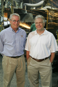 John Workman and Mark Sazakensky of Eagle Alloy.  Photo credit: Deluxeimages