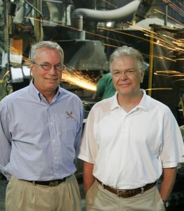 Eagle Alloy Founders: John Workman and Mark Fazakerley