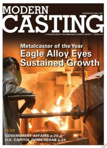 Modern Casting Front Cover June 2015
