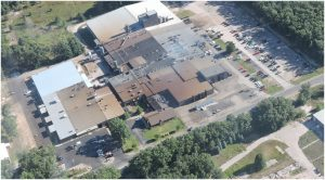 Eagle Alloy - Aerial View of Steel Foundry, Muskegon, MI