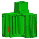 3D scanning confirmed casting met print tolerances.