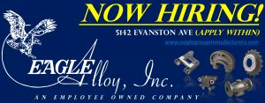 Jobs at Eagle Alloy: Now Hiring