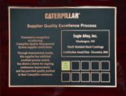 Caterpillar - SQEP Gold Certification