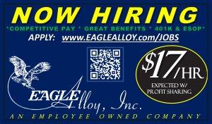 Jobs at Eagle Alloy - March 2021